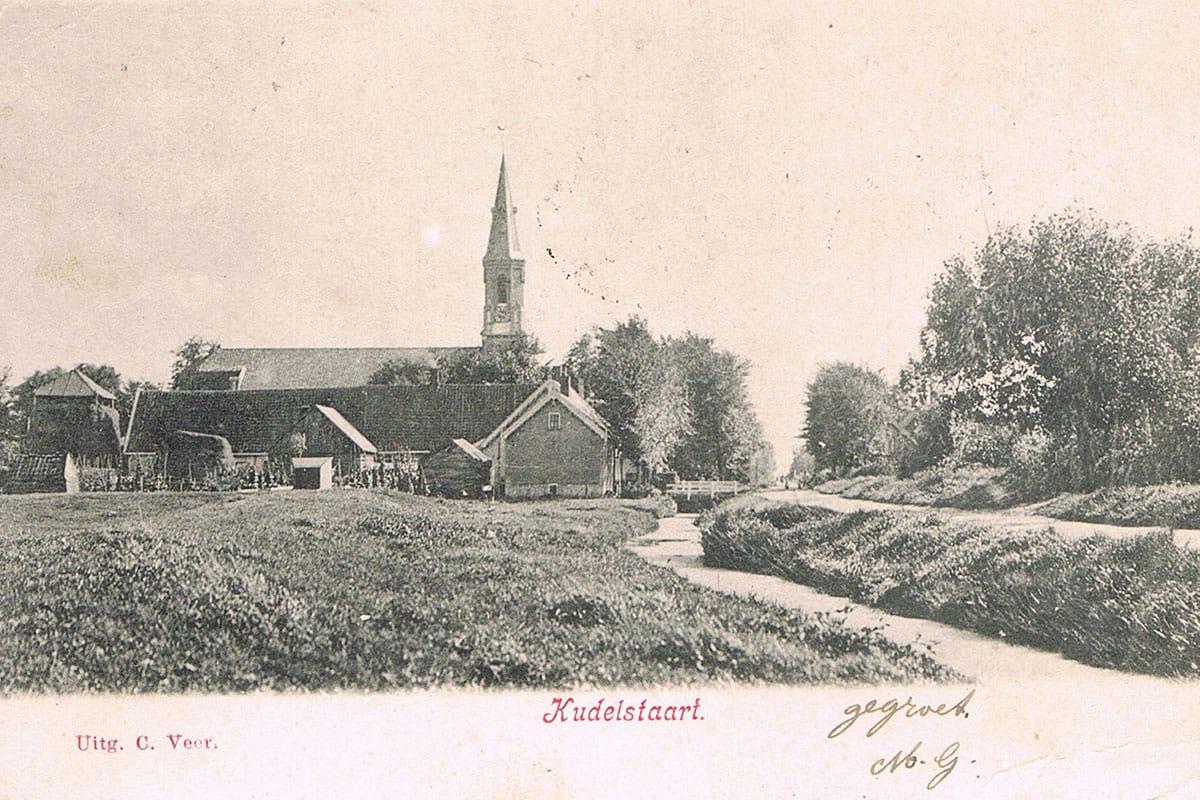 Ansichtkaart - Kudelstaart - Aalsmeer op de kaart