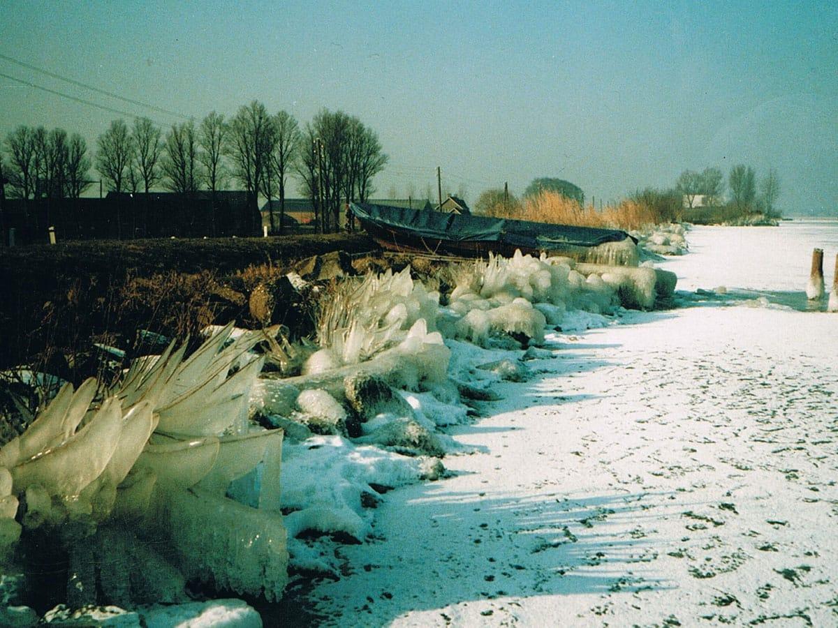 IJS op de Westeinderplas, Herenweg Kudelstaart 1986