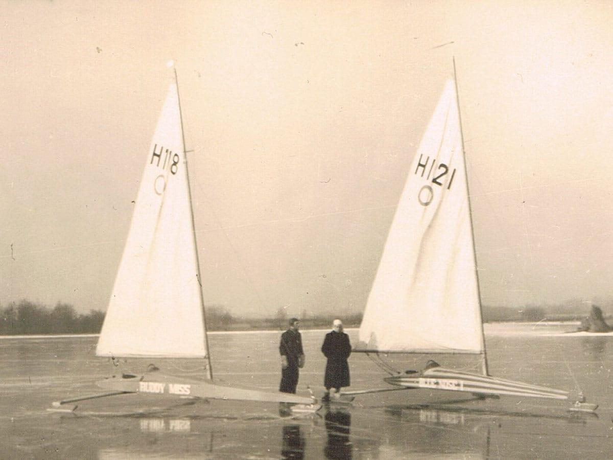 IJszeilen-op-Westeinderplas-Aalsmeer-1942-IJS