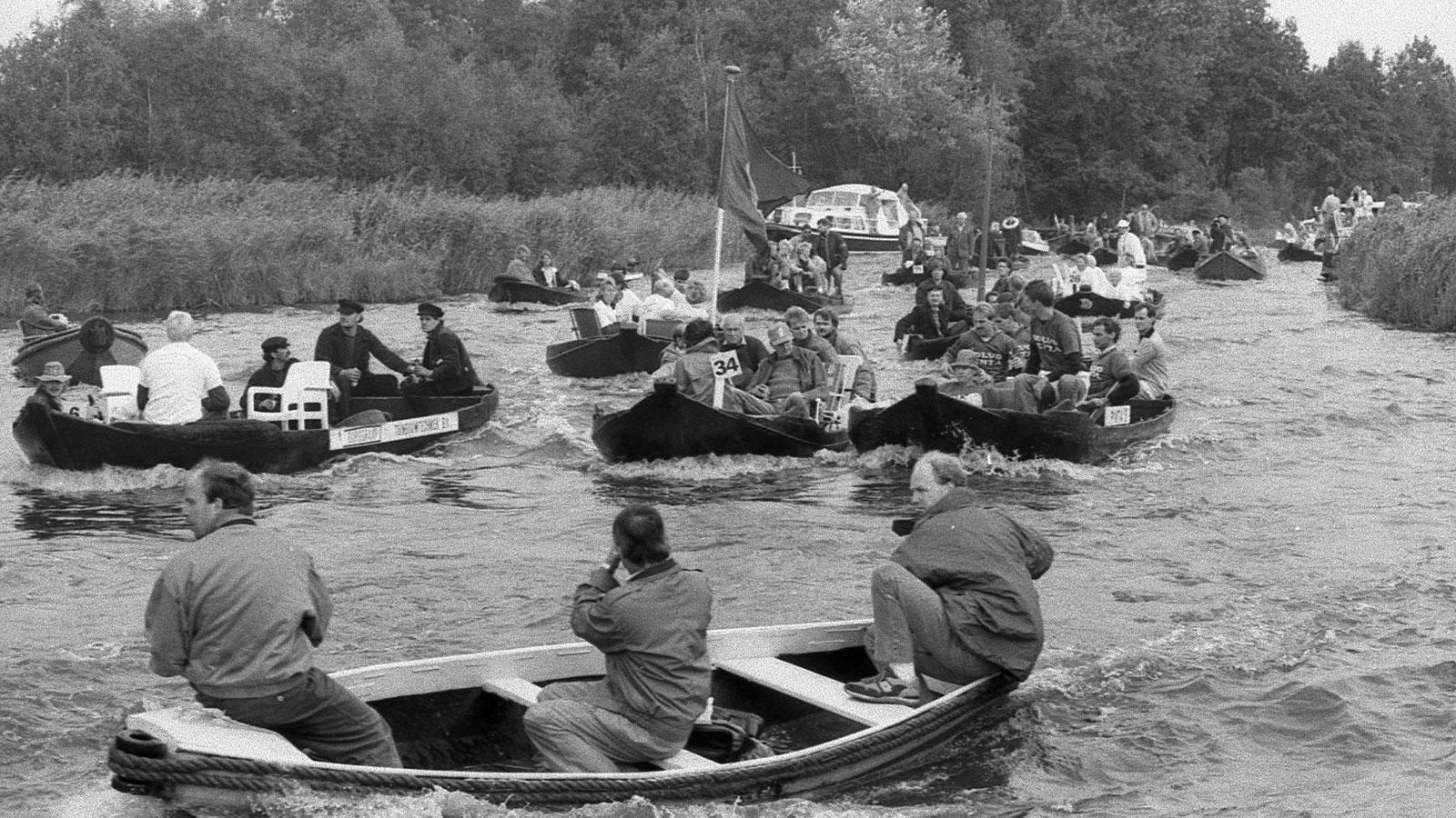 Film - video van de Pramenrace van 1988 - Oud Aalsmeer in Beeld