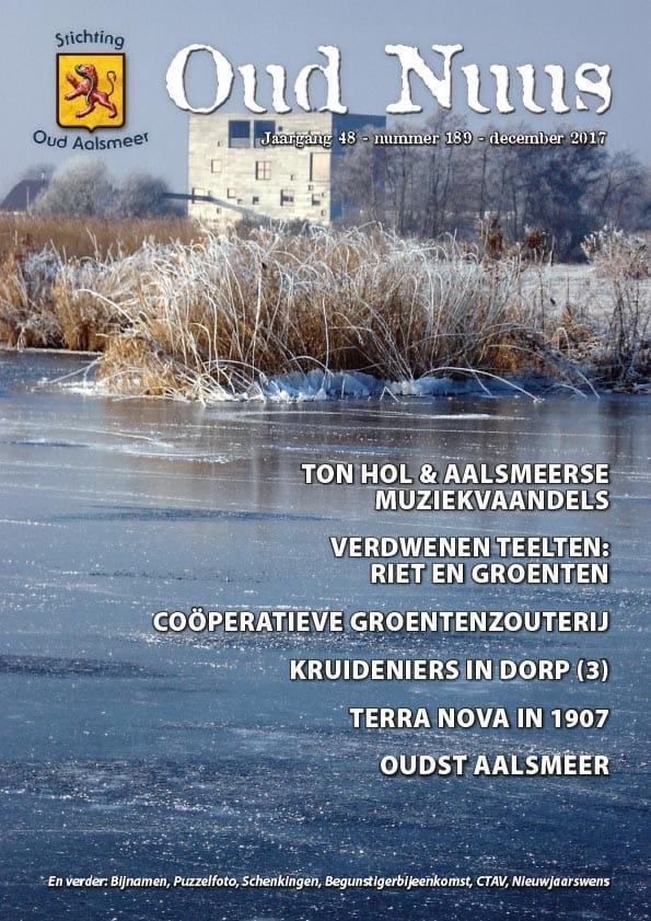Oud Nuus #189 Cover