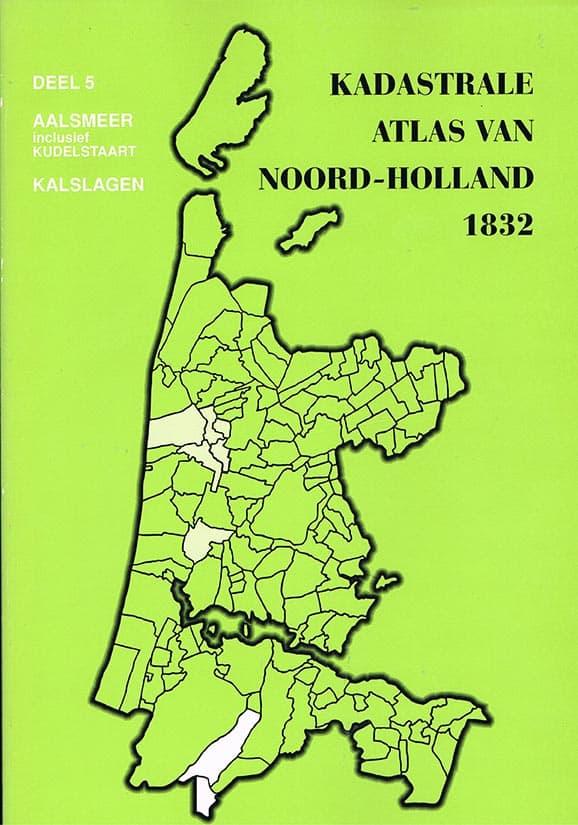 Kadastrale Atlas van Noord-Holland 1832 - Cover