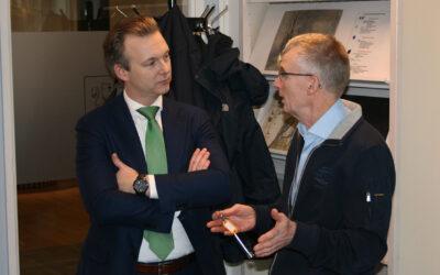 Bezoek burgemeester Oude Kotte