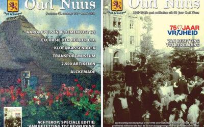 Oud Nuus komt met oorlogsspecial