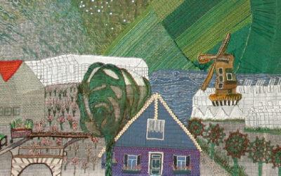Wandkleed 'Aalsmeer', 50 jaar oud