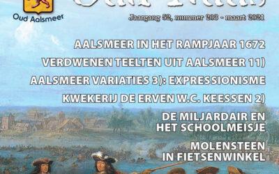 Oud Nuus maart 2021: Aalsmeer in het rampjaar 1672