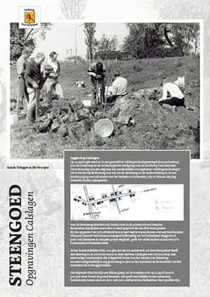 Steengoed - Opgravingen Calslagen - 300
